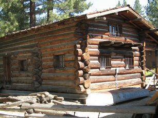 Tahoe Culture Old Log Cabin