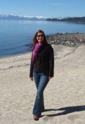 Angela at Lake Tahoe