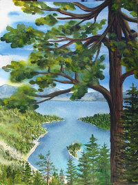 Catherin Schaefer Emerald Bay