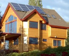 Tahoe Culture solar powered house