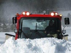 pushing snow at Mt Rose