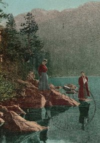 Tahoe Culture Cascade Lake 1910