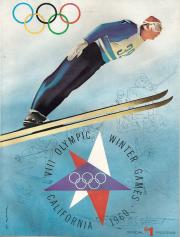 1960 Winter Olympics Official Program
