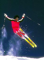 Wayne Wong at Alpine Meadows Ski Resort
