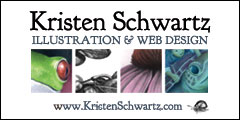 Kristen Schwartz art and websites