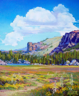 High Sierra Summer by Bonita Paulis