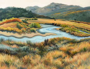 Hope's Autumn Grass by Phyllis Shafer Under One Sky