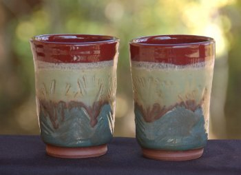 PattyLassaline_HolidayCups_Ceramic