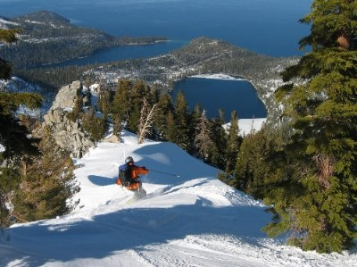 Sierra Ski and Cycle Works Gary Bell skiing Mt Tallac