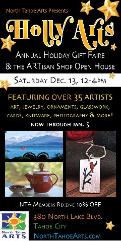 Holly Arts at North Tahoe Arts