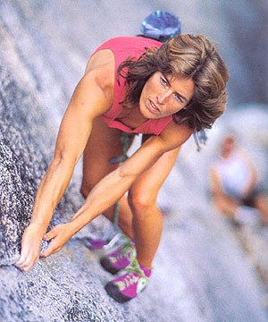 Lynn Hill Iconic Climber at Squaw