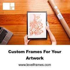 LevelFrames redefine art