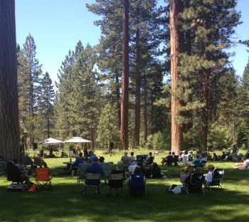 Music on the Valhalla Lawns Tahoe Culture
