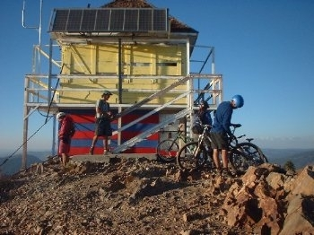 Sierra Ski and Cycle Works at Grouse Ridge Fire Lookout