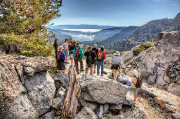 Donner Party Hike Tahoe Culture