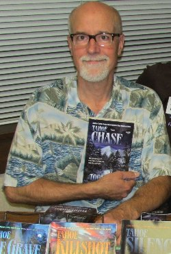 Todd Borg at South Lake Tahoe Library