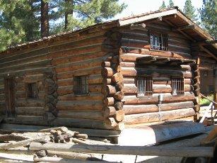 Tahoe Culture Old Log Cabin