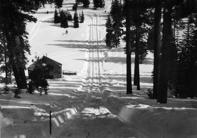 1932 Granlibakken Olympic Hill C.W. Vernon