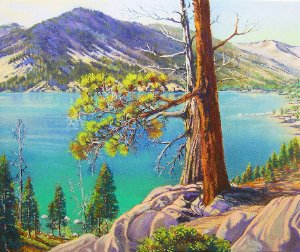 Polished Water Echo Lake by Bonita Paulis