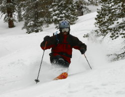 Gary Bell of Sierra Ski and Cycle Works supports Tahoe Schools