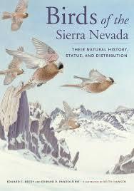 Birds of the Sierra Nevada by Ted Beedy Ed Pandolfino