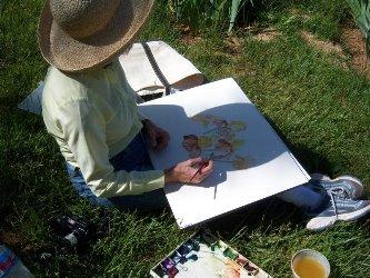 BJ Pefley at Iris Garden