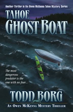 TahoeGhostBoat by Todd Borg