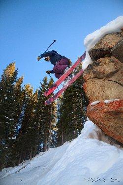 Mason Strehl Coalition Skier